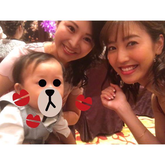 赤ちゃんと小澤陽子