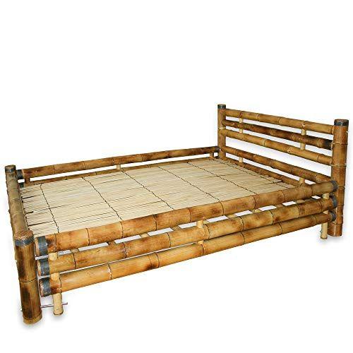 Bambus Betten Bettgestell Bambus Kaufen Dunkles Holzbett