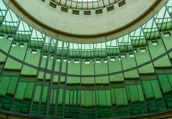 Ausschnitt in Grün