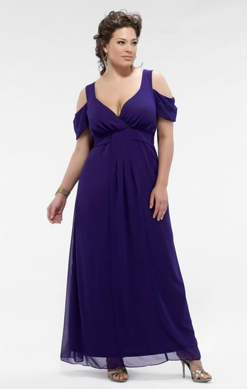 Plus size bridesmaid dresses with sleeves ankle length for Ankle length wedding dress with sleeves