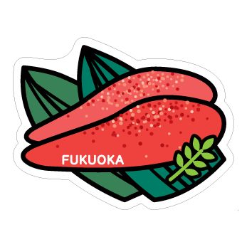 gotochi postcard fukuoka mantaiko