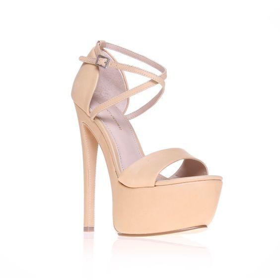 nanette, nude shoe by kg kurt geiger - women shoes platforms 6 ...