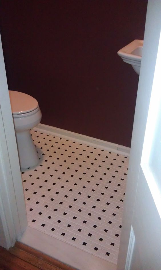 "We love to redo a floor with ""new"" vintage looking pinwheel mosaic tiles!"