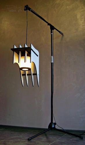 "DECORATIVE LAMP ""Last Century Crown""  #Accessories, #Decoration, #Design, #Ecofriendly, #Interior, #Lamp, #Light, #Unique, #Waste"
