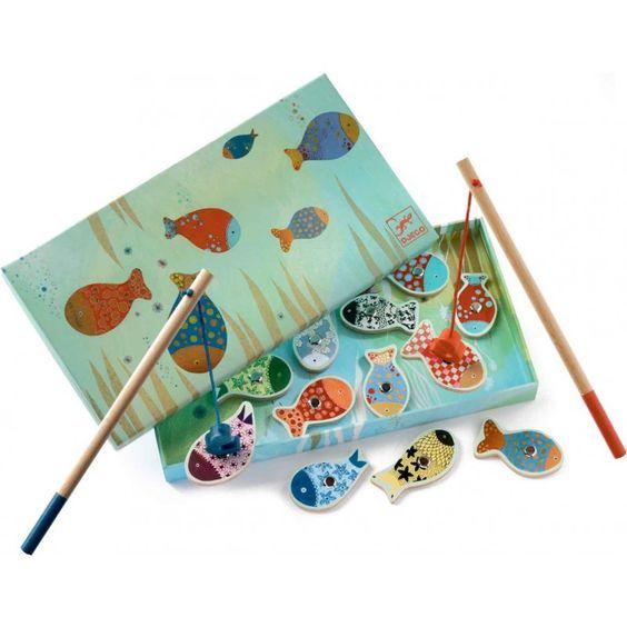 Djeco Petite pêche à la ligne magnétique - Fishing Dream - Petits ...