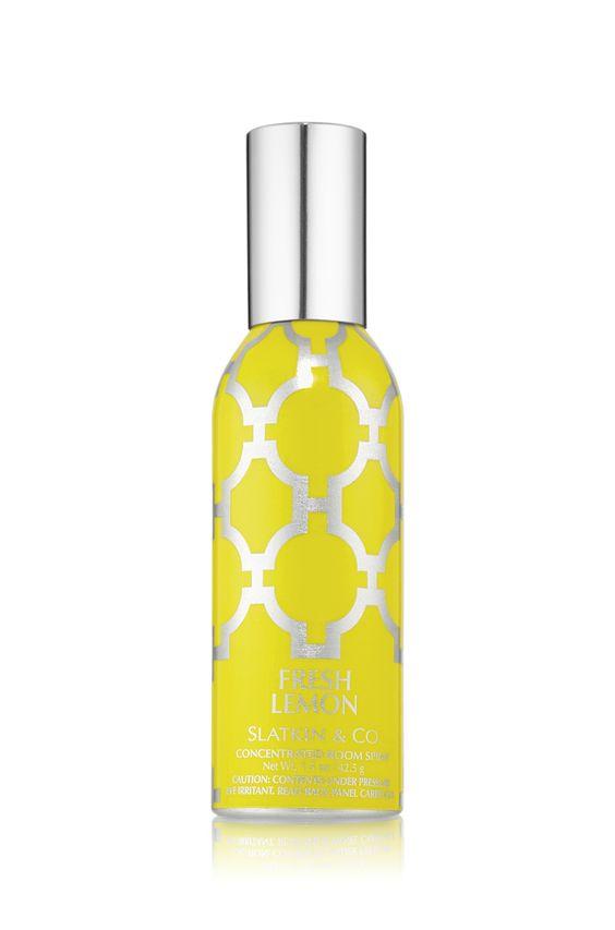 how to make a lemon spray for room