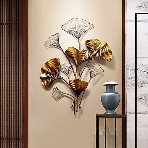Kindlov Metal Wall Art Decor Entrance Wall Decoration Creative Wall Hanging Iron Pendant Wall Decoration Gi In 2020 Metal Wall Art Decor Wall Decor Metal Tree Wall Art