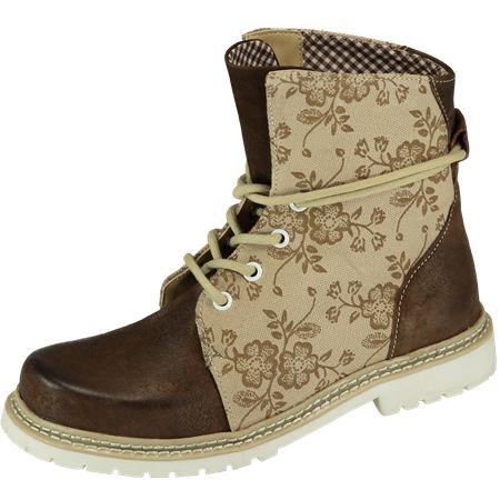 Tracht    Spieth & Wensky Janina Boots natur braun