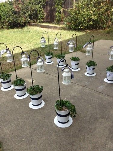 Wedding Decorations Shepherd Hooks w Lanterns eBay Loris