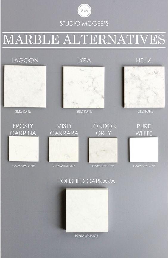 Studio McGee Marble Alternatives