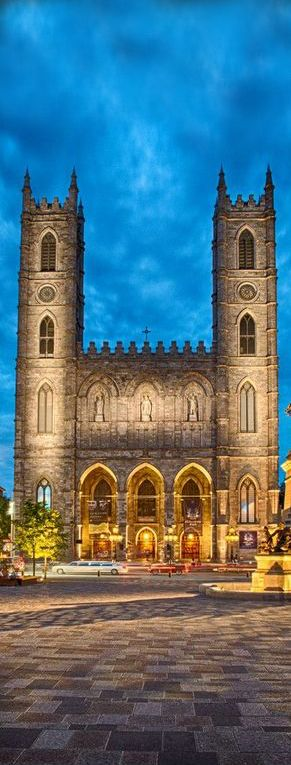 Notre Dame Cathedral, Montreal, Canada