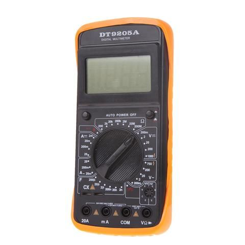High Quality F 200mA/250V AC DC Digital LCD l Multimeter