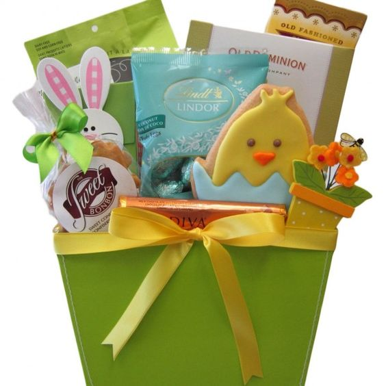 Easter treats gift basket easter gift baskets pinterest easter treats gift basket easter gift baskets pinterest easter gift baskets easter and gift baskets canada negle Image collections