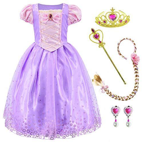 Disney Store Princess Aurora Halloween Costume Dress Girl Size 5//6