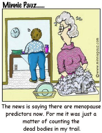 menopause jokes - Still Blonde After All These Years