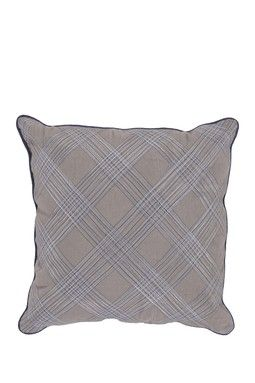 Throw Pillow - Taupe