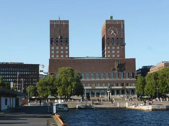 Noble Peace Prize Is Given In City Hall Of Capital Oslo Norway Country Ferry Building San Francisco Noble Peace Prize