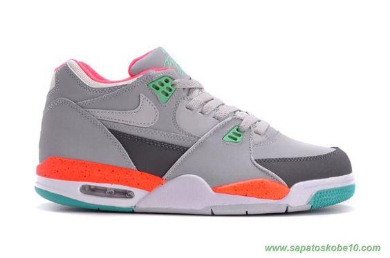 Nike Air Flight 89 Leather Cinza 306252-023 produtos de basquete