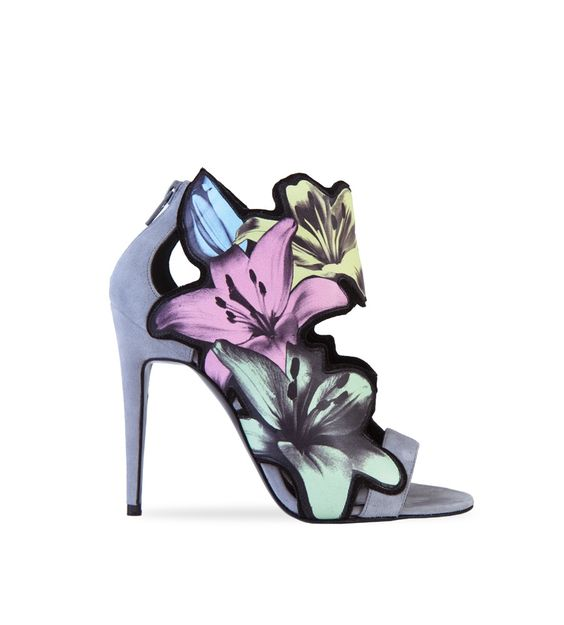 Pierre Hardy multicolor high heel Lily sandals