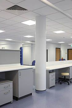 n-case Gypra GRG column casings are designed for interior use and are manufactured from glass reinforced gypsum to provide an excellent blend of simple installation, strength and versatility as well as fire resistance. www.encasement.co.uk
