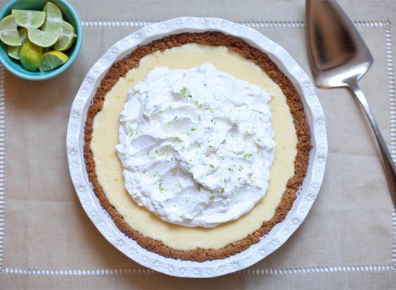 Key Lime Pie. Yummy.