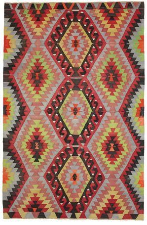 Alfombra Kilim semiantigua Turquía 298x197