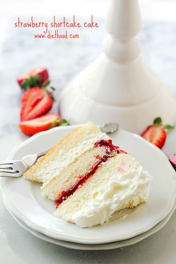 Cake With Whipped Cream Frosting Calories : Strawberry Shortcake Cake Recipe Strawberry pie ...