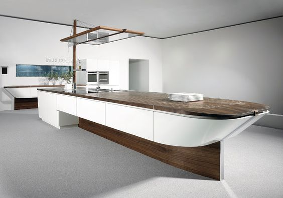 #Cuisine #design #concept Marecucine @Alnouk + adaptation en cuisine réelle