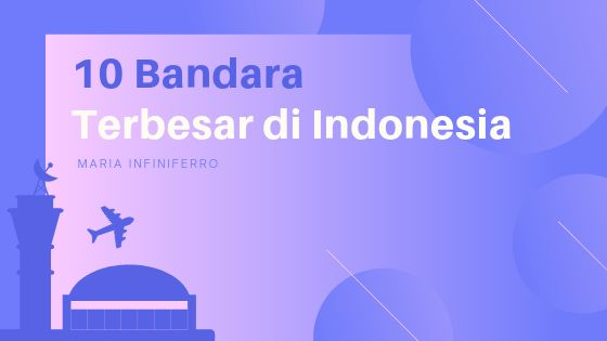 10 Bandara Terbesar Di Indonesia Dengan Gambar Indonesia