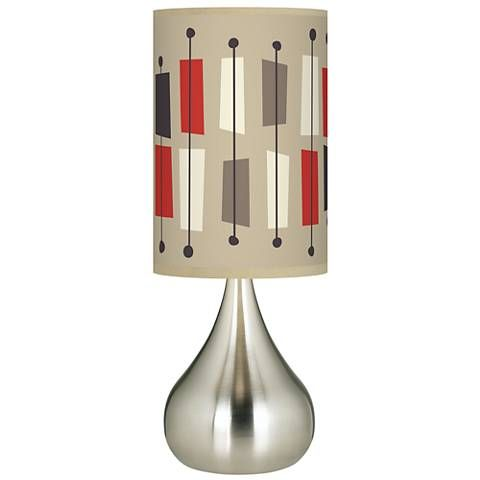 Bounce Giclee Big Droplet Table Lamp 63h30 Lamps Plus Lamp Table Lamp Modern Table Lamp Design