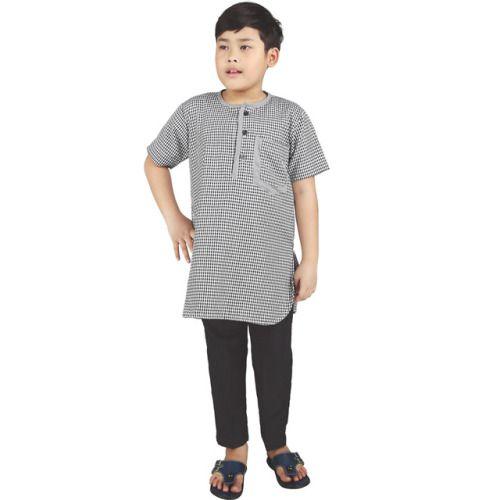 Baju Anak Laki Laki Csg 262 Cotton Abu Abu 4 8 Rp 152 500