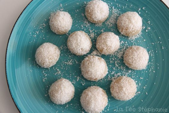 La Fée Stéphanie: Perles de coco chinoises à la vapeur: simples, rapides, sans matière grasse, sans gluten et absolument délicieuses!