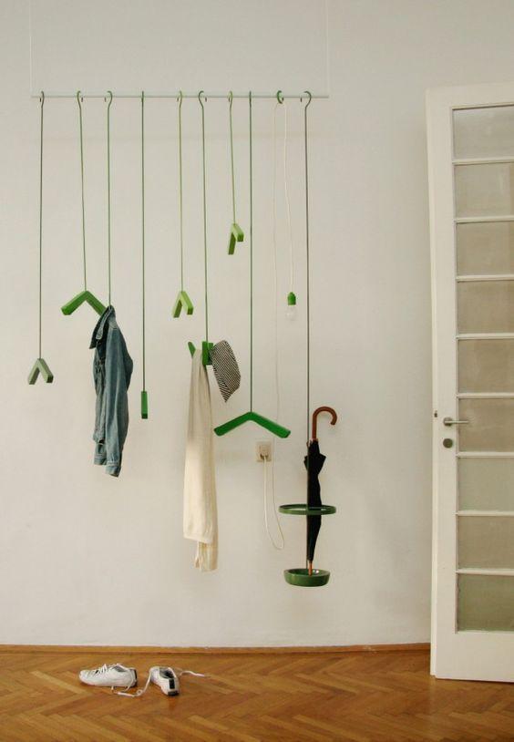 garment racks coat rack wall rack