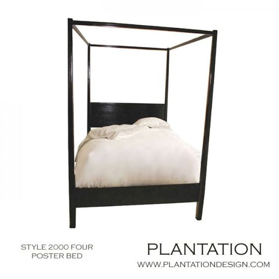 Plantation design furnishings furniture pinterest for Plantation style bed