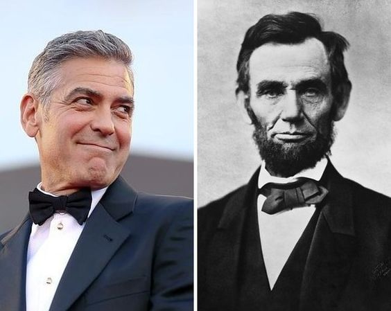 What Do George Clooney And Abraham Lincoln Have In Common