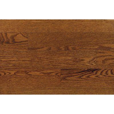 "Forest Valley Flooring Ajaccia 2-1/4"" Solid Red Oak Hardwood Flooring in Pacific"
