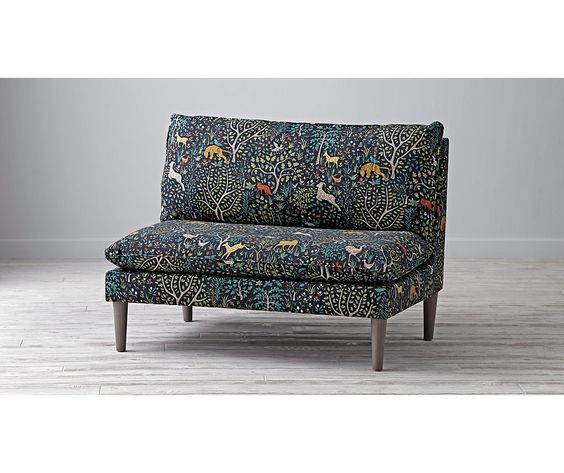 Upholstered Settee | The Land of Nod