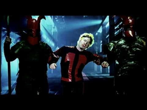 Powerman 5000 - When Worlds Collide - This guy was Rob Zombie's brother or cousin or something. Whoever he is, I ate this industrial rock up in middle school!