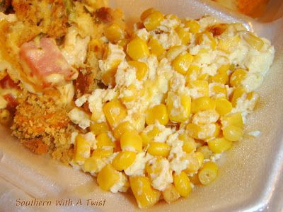 Southern With A Twist: Easy Corn Pudding