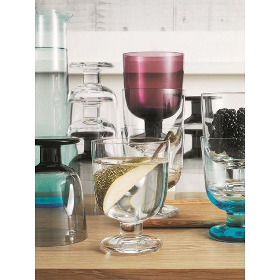 Iittala Lempi Glas Set van 2 - Grijs  Moois voor in- en buiten de ...