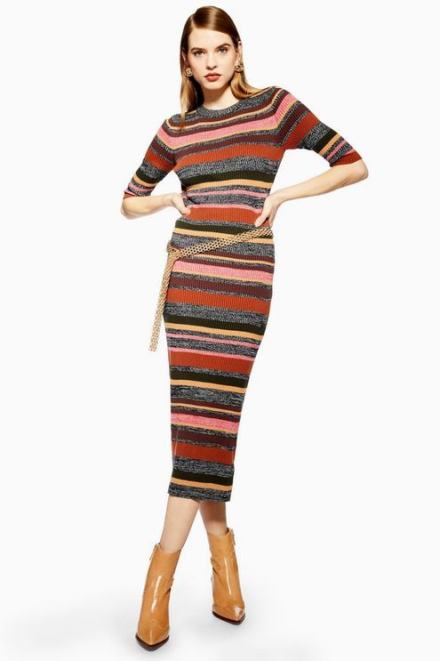 17+ Striped knitted dress information