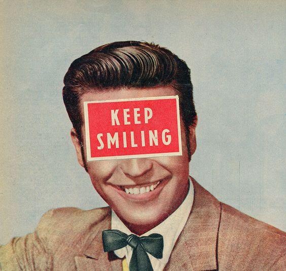 'Solid Advice', uno de los collages favoritos del artista.  Sammy Slabbinck