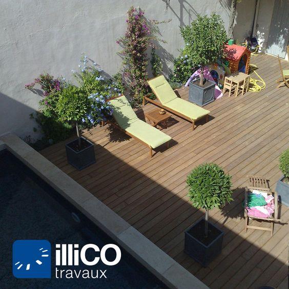 Création d'une #terrasse en #bois à #Marseille (13) http://www ...