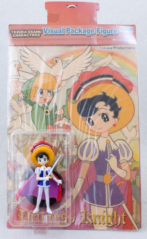 Princess Knight Sapphire Visual Package Figure Osamu Tezuka JAPAN ANIME MANGA