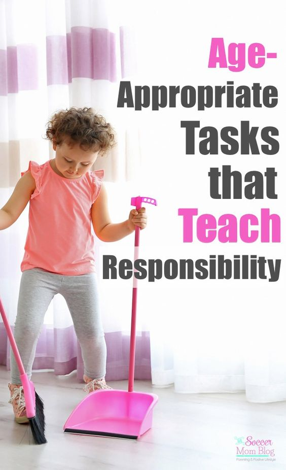 Age appropriate chores teach children responsibility, strong work ethic, and helps them feel like a part of the family. A list of tasks kids can do by age. (ad)