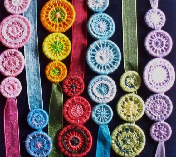 Colour Work with Dorset Buttons Workshop, 14th February 2015, nr Dorchester £15.00:
