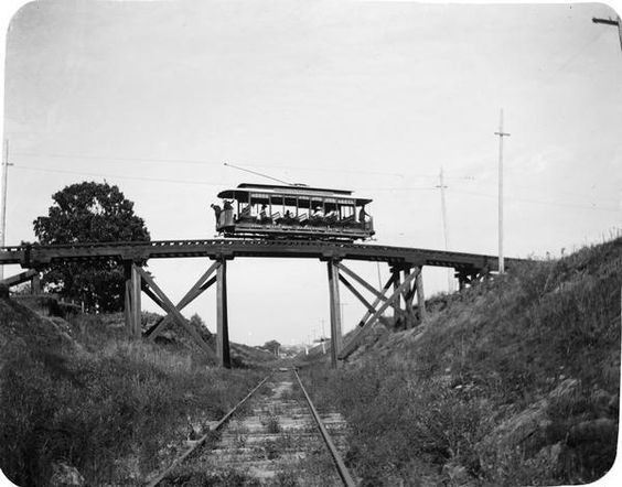 Harrison Street Viaduct | Photograph | Wisconsin Historical Society