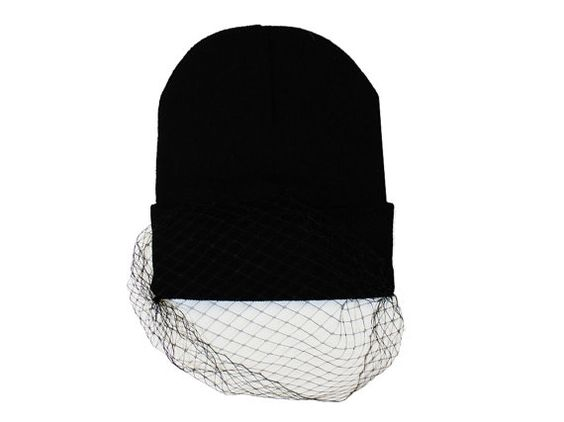 Trendy fashion blogger hipster style black beanie by GOLDTINTED, 29.95 ...