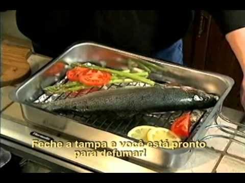 Defumador Rápido Camerons Gourmet - YouTube