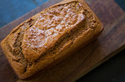 Classic beer quick bread made with Dark Beer and molasses.